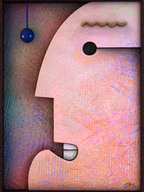 One of a small series of Cubism inspired digital pieces.